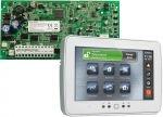 DSC PC1616PCBE riasztórendszer központi panel + DSC PTK5507 érintőképernyős kezelőegyég