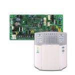 PARADOX SP4000 + K32+ riasztó rendszer központ panel és ledes kezelőegység