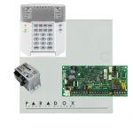 Paradox SP4000 riasztórendszer dobozzal, K32LED+ kezelő, 30VA táp