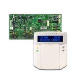 PARADOX SP5500 + K32LCD+ szöveges kezelőegység, riasztó rendszer központ panel