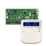 PARADOX SP6000 + K32LCD+ szöveges kezelőegység, riasztó rendszer központ panel