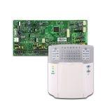 PARADOX SP7000 + K32+ riasztó rendszer központ panel és ledes kezelőegység