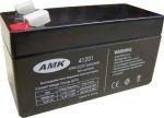 AMK 12V 1,3Ah MS1,3-12 zselés biztonságtechnikai, riasztórendszer akkumulátor, riasztó akku
