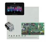Paradox EVO192HD riasztó dobozzal, fekete TM50 érintőképernyős kezelő, 45VA táp