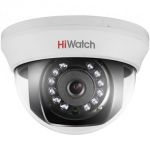 Hiwatch DS-T101(3.6mm) 1 MP, beltéri, 3,6 mm fix lencsés, HD-TVI dome kamera IRM 20 m
