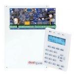 INIM IMB-ABILITY 510M riasztórendszer panel, doboz, táp, LCD szöveges kezelőegység