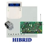 Paradox MG5000 hibrid rádiós riasztó, dobozzal, K32LCD+ kezelő, 30VA táp