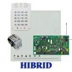 Paradox MG5050 hibrid rádiós riasztó, dobozzal, K10V kezelő, 30VA táp