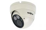 Novus NVAHD-2DN5102V/IR-1 vandálbiztos DOME AHD kamera 1080p 2MP, FULL HD, varifokális optikával 2,8