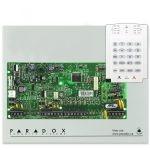 PARADOX SP4000 + K10V riasztó rendszer központ és kezelőegység
