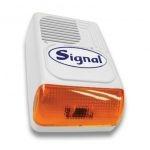 Signal PS-128A-W/A  Kültéri sziréna (hang és fényjelző)  fehér