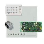 Paradox SP4000 riasztórendszer dobozzal, K10H kezelőegység, 30VA tápegység