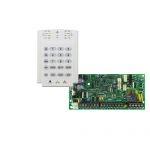 PARADOX SP4000 + K10V riasztó rendszer központ panel és kezelőegység