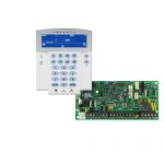 PARADOX SP4000 + K35LCD FIX! szöveges/ikonos kezelőegység, riasztó rendszer központ panel