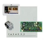 Paradox SP4000  riasztórendszer dobozzal, TM50 érintőképernyős kezelő, 30VA tápegységgel