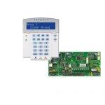 PARADOX SP5500 + K32LX LCD RÁDIÓS szöveges kezelőegység, riasztó rendszer központ panel