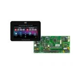 PARADOX SP5500 + TM50 fekete kezelő, riasztó rendszer központ panel