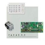 Paradox SP6000 riasztórendszer dobozzal, K10H kezelőegység, 45VA tápegység