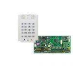PARADOX SP6000 + K10V riasztó rendszer központ panel és kezelőegység