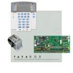 Paradox SP6000 riasztórendszer dobozzal, K32LED+ kezelő, 45VA táp