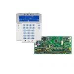 PARADOX SP6000 + K35LCD FIX! szöveges/ikonos kezelőegység, riasztó rendszer központ panel