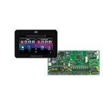 PARADOX SP6000 + TM50 fekete kezelő, riasztó rendszer központ panel