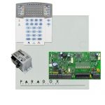 Paradox SP7000 riasztórendszer dobozzal, K32LED+ kezelő, 45VA táp