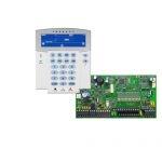 PARADOX SP7000 + K35LCD FIX! szöveges/ikonos kezelőegység, riasztó rendszer központ panel