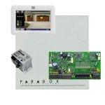 Paradox SP7000 riasztó dobozzal, fehér TM50 érintőképernyős kezelő, 45VA táp