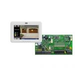 PARADOX SP7000 + TM50 fehér kezelő, riasztó rendszer központ panel