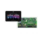 PARADOX SP7000 + TM50 fekete kezelő, riasztó rendszer központ panel
