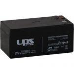 UPS POWER 12V 3,3Ah zselés biztonságtechnikai, riasztórendszer akkumulátor, riasztó akku