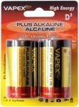 VAPEX D PLUS Alkaline 2 db góliát tartós elem