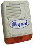 SIGNAL PS-128AL 7 hangú LED kültéri sziréna (hang és fényjelző)