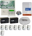 Komplett riasztó DSC riasztórendszer szett DSC 1832H LCD