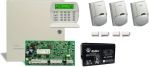 DSC PC1616 PACK LCD + 7 Ah akku riasztórendszer csomag