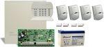 DSC PC1832 riasztórendszer PACK + 7 Ah akku +4db LC100 mozgás