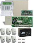 DSC PC1864 PACK LCD + 7 Ah akku riasztórendszer csomag