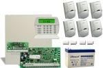 DSC PC1864 riasztórendszer PACK + 7 Ah akku + 6db LC100 mozgásérzékelő
