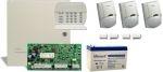 DSC PC1616 riasztórendszer + PK5516 kezelő PACK + 7 Ah akku