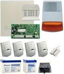 Komplett DSC riasztórendszer DSC PC1616 szett II.