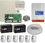 Komplett DSC riasztórendszer DSC PC1616 + PK5516 kezelő