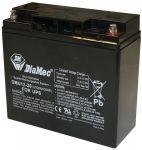 DIAMEC 12V 20Ah zselés biztonságtechnikai, riasztórendszer  akkumulátor, riasztó akku