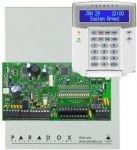 PARADOX SP7000 + K32LCD+ riasztórendszer központ és kezelőegység dobozzal