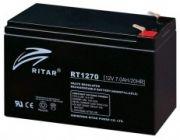 RITAR RT1270 12V 7Ah zselés biztonságtechnikai, riasztórendszer akkumulátor, riasztó akku