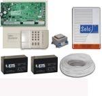 DSC 1616H riasztórendszer csomag mozgásérzékelők nélkül, az érzékelők külön rendelhetőek a csomaghoz