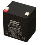 DSC 12V 4 Ah zselés biztonságtechnikai, riasztórendszer akkumulátor, riasztó akku