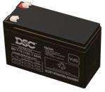 DSC 12V 7Ah zselés biztonságtechnikai, riasztórendszer akkumulátor, riasztó akku