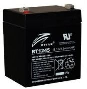 RITAR RT1245 12V 4,5Ah zselés biztonságtechnikai, riasztórendszer akkumulátor, riasztó akku