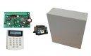 SATALARM SA816 LCD riasztó központ LCD kezelővel, doboz, tápegység